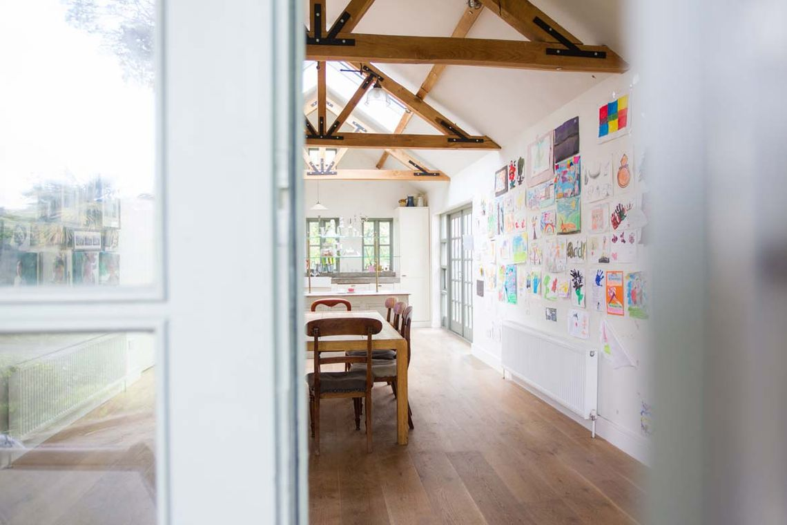 Converted Barn Family Room